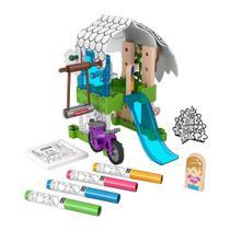 Conjunto De Colorir Fisher Price Casa Na Árvore Wonder Makers Colorido -