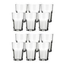 Conjunto de Copos 410ml Bristol Long Drink 12 Peças - Nadir -