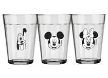 Conjunto de Copos Americano 190 ml  (3 unidades) Mickey Family Nadir - NAF 367 -