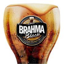 Conjunto de Copos Brahma BLACK em Vidro para CHOPP 2PÇS 430ML Globimport -