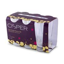 Conjunto de copos com 6 peças chopp pilsener 300ml - Cisper -