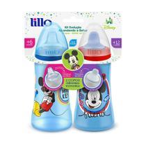 Conjunto De Copos De Treinamento - Disney Colors - Mickey Mouse - Lillo -