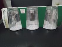 Conjunto de Copos Nergis 10 cm 235 ml vidro para t água e refrigerante e água 6pcs . - Sod Egito - S - Glass