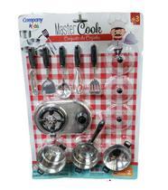 Conjunto De Cozinha Infantil Master Cook Company Kids -