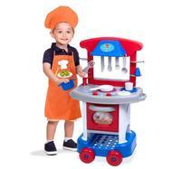 Conjunto De Cozinha - Play Time - azul- Cotiplás -