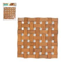 Conjunto de Descanso de Panela em Bambu Art house - Elegância