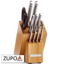 Conjunto de Facas Aço Inox 10 Peças Classic - KitchenAid -
