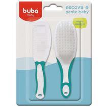 Conjunto de Higiene Escova de Cabelo e Pente Azul 5236 - Buba -