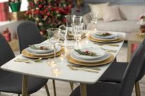 Conjunto de Jantar 5 Peças Scandia - Just Home Collection
