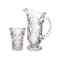 Conjunto de jarra com copos Jugs Studio Crystal STC3031 -