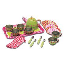 Conjunto de Jogo de Chá Verde - Estrela Chef - DTC -