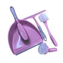 Conjunto de limpeza com 5 peças- Casa ambiente - Edfort