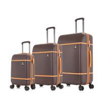 Conjunto de malas de viagem PMG Mônaco Swiss Move Marrom -