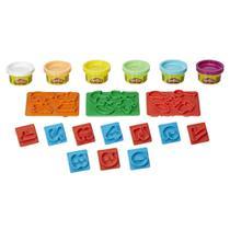 Conjunto de Massinhas - Play-Doh - Moldes de Números - Hasbro -