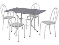 Conjunto de Mesa 4 Cadeiras Artefamol - Bruna