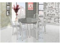 Conjunto de Mesa 6 Cadeiras Artefamol - Lorena