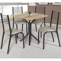 Conjunto De Mesa Com 4 Cadeiras - Camila - Ciplafe -