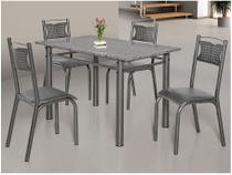 Conjunto de Mesa com 4 Cadeiras - Ciplafe Poeme