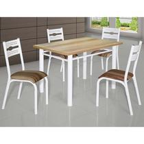 Conjunto De Mesa Com 4 Cadeiras - Luna - Ciplafe -