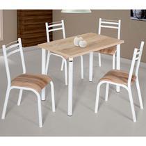 Conjunto De Mesa Com 4 Cadeiras - Plaza - Ciplafe -