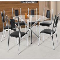 Conjunto De Mesa Com 6 Cadeiras - Bela - Ciplafe -