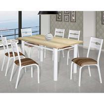 Conjunto De Mesa Com 6 Cadeiras - Luna - Ciplafe -