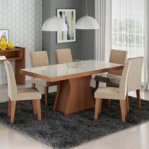 Conjunto de Mesa com 6 Cadeiras Olivia/Milena  - Cimol -