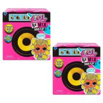 Conjunto De Mini Bonecas Surpresas - LOL Surprise! - Remix Hair FlipTots - Candide -