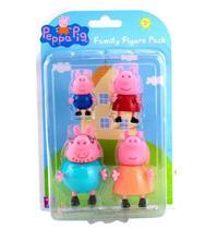 Conjunto de Mini Bonecos Família Peppa Pig - Sunny -