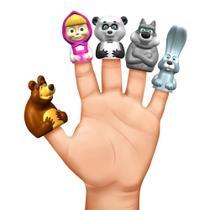 Conjunto De Mini Figuras - Dedoche - Masha e o Urso - Estrela -