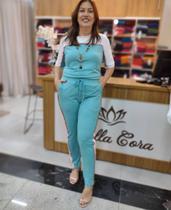 Conjunto de Moletinho Blusa/calça - Tam. P - Bella Cora