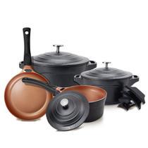 Conjunto de Panelas 4 Peças Premier BLACK LE Cook LC1849 -
