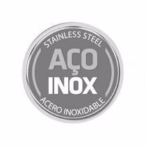 Conjunto De Panelas 7pc Inox Tramontina Allegra Fundo Triplo -
