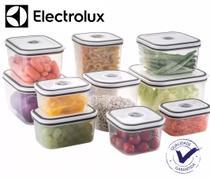 Conjunto de potes com tampa - 10 peças - Electrolux -