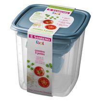 Conjunto de  Potes Plasticos C/ 5und - Ref.SR149/6c - Sanremo
