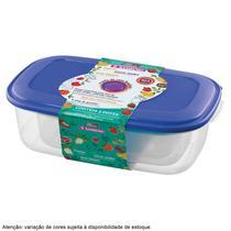 Conjunto de Potes Retangular Vac Freezer 3 Peças Sanremo -