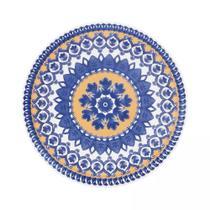 Conjunto de Pratos Fundos Com 6 Peças 23cm Floreal La Carreta - Oxford -