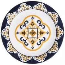 Conjunto de Pratos Rasos Com 6 Peças 26cm Floreal São Luis - Oxford -
