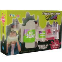 Conjunto de Slime - Fábrica de Slime - Clear Slime Brilha no Escuro - 1 Kg - Winner -