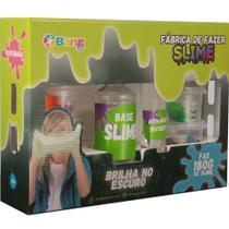 Conjunto de Slime - Fábrica de Slime - Clear Slime Brilha no Escuro - 180 Gr - Winner -