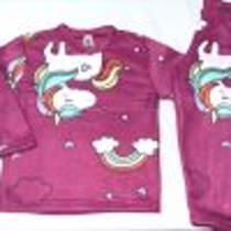 conjunto de soft menina blusa s/capuz calça -