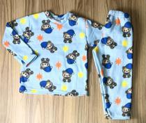 conjunto de soft menino blusa s/capuz calça -