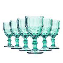 82b4cd5d6 Conjunto de Taças para Água Elegance Tiffany 6 Peças 260ml Class Home