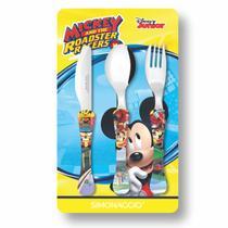 Conjunto de Talheres Infantil Simonaggio Disney Kids - 3 Pçs  Mickey -