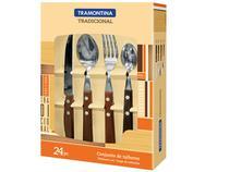 Conjunto de Talheres Tramontina - 24 Peças Tradic 22299/050