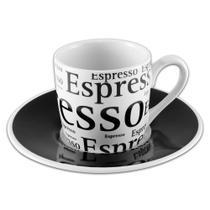 Conjunto De Xícara De Café Espresso Com Pires 12 Peças - Ricaelle -