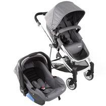 Conjunto do Bebê Travel System Epic Lite Duo com Carrinho + Bebê Conforto e Base - Infanti -