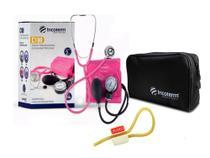 Conjunto Estetoscópio e Esfigmomanômetro C100 Incoterm - Cores -