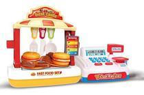 Conjunto Fast Food Com Som Luz Caixa Registradora - Barrettoimports