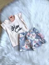 Conjunto feminino infantil tamanho 2 anos Infanti -